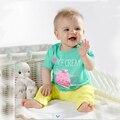 Новорожденного имена для мальчиков уникальный мальчик одежды polo хлопок костюм дети красный infantil детские 2 шт. набор завод-прямая-одежда