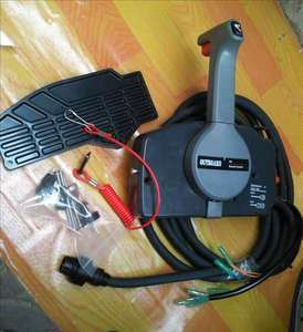 Image 4 - 703 48205 ใหม่เครื่องยนต์ Outboard กล่องควบคุมระยะไกล ASSY สำหรับ Yamaha มอเตอร์เรือ, 10 Pins Push to open 703 48205 17