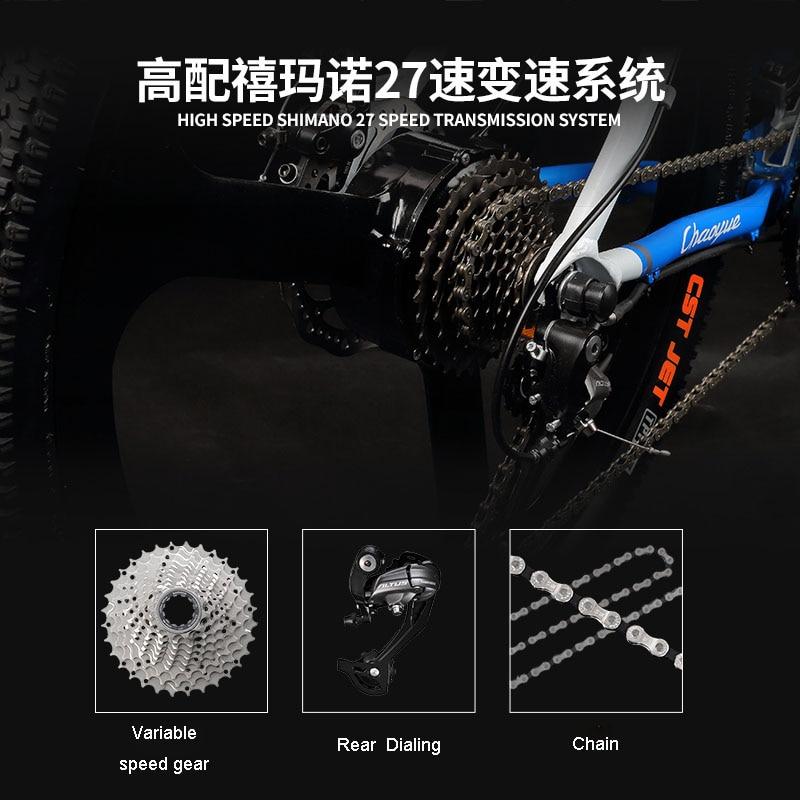 26 elektrik dağ velosiped MTB 48V lityum batareya 27 sürətli - Velosiped sürün - Fotoqrafiya 6