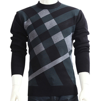 Men Casual Simple Sweater Autumn New Winter Spring Fashion Brand O Neck Thick Sweater Plus Size