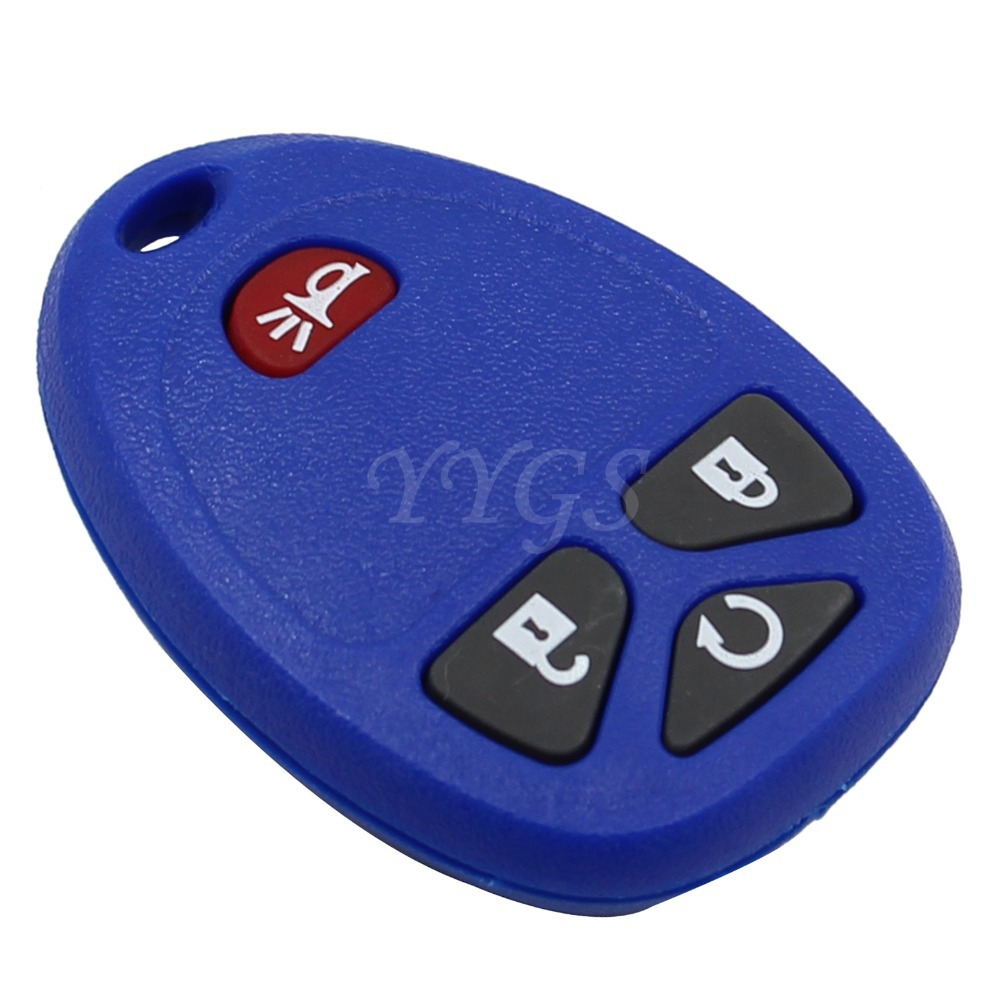 Aliexpress com buy new 3 button panic keyless entry remote key fob shell case 4 buttons for buick enclave gmc g m replacement key cover from reliable