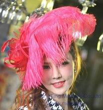 Ladies Fascinator Hats Women Dress Girl Hair Accessories Wedding Bridal Headpiece Headband