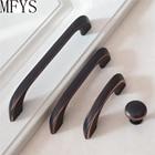 2.5'' 3.75'' 5'' 6.3'' 7.56''Door Handles Drawer Pulls Handles Knobs Dresser Pull Oil Rubbed Bronze Kitchen Cabinet Pull Handles