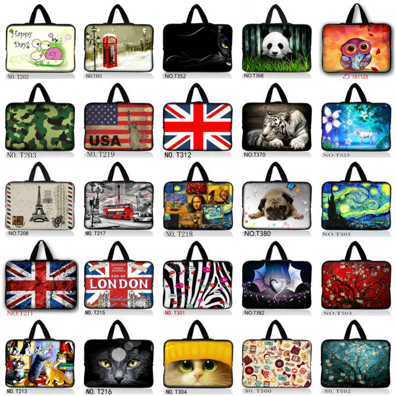 Mooie Hond 7 10 12 13 14 15 17.3 inch Laptop Sleeve waterdichte Mouwen Pouch Bag Tablet Case Cover Voor Dell HP ASUS 15.6 13.3