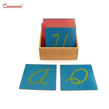 Preescolar Papel 3 Madera De Cartas Aprendizaje Los Juguete Con Lija Lenguaje Enseñanza Juguetes Caja Montessori Estudiantes La007 0nwOPN8kX