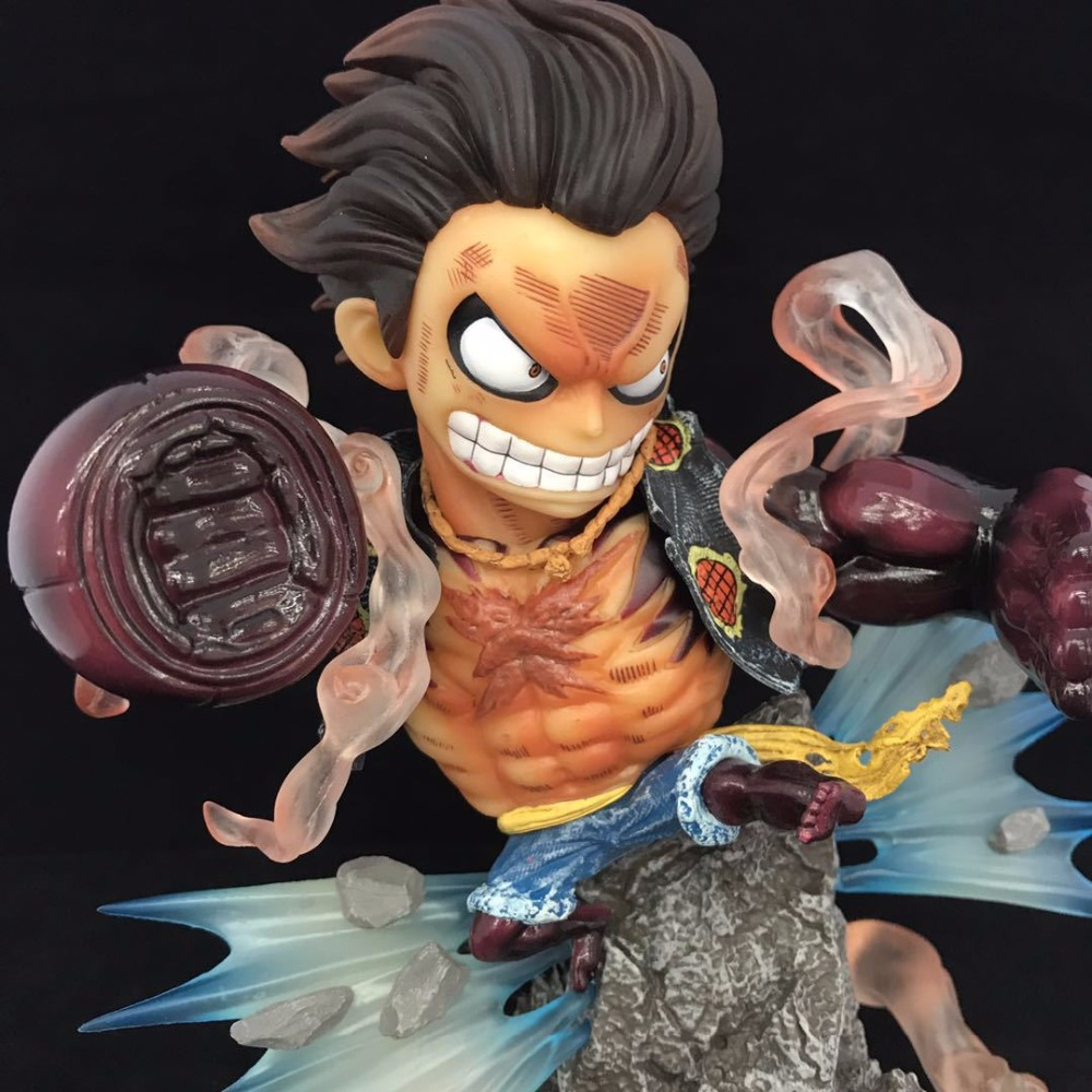 NEW hot 20cm One Piece Gear fourth Monkey D Luffy Action figure toys doll collection Christmas gift no box new hot 11cm one piece vinsmoke reiju sanji yonji niji action figure toys christmas gift toy doll with box