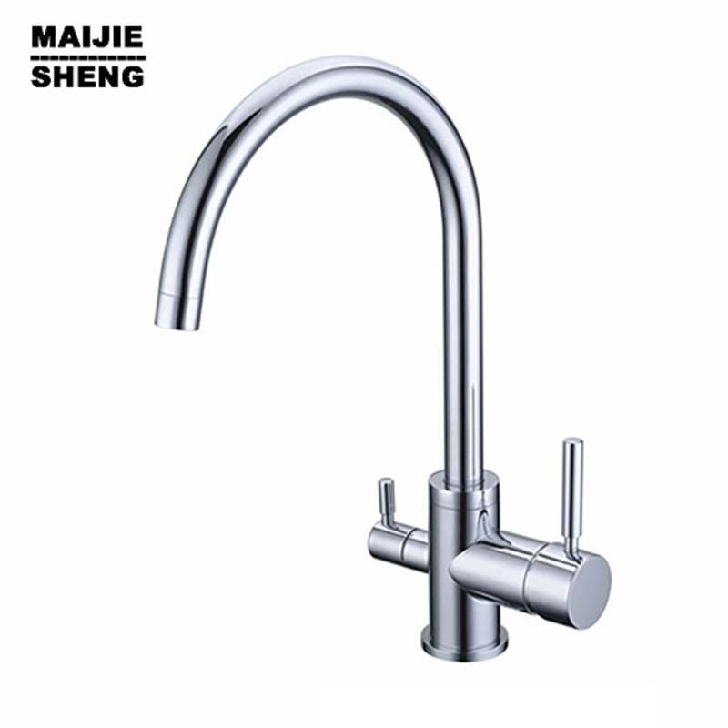 цена на Water Faucet for Filtered 3 Way Mixer Torneira Com Filtro Kitchen Tap Faucets Selling None Torneiras Para Pia Cozinha Drinking