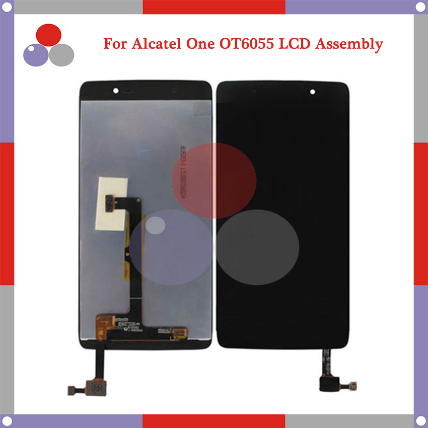 For Alcatel One Touch Idol 4 6055 OT6055 LCD Screen Display + Touch Screen Digitizer Assembly Free Shipping