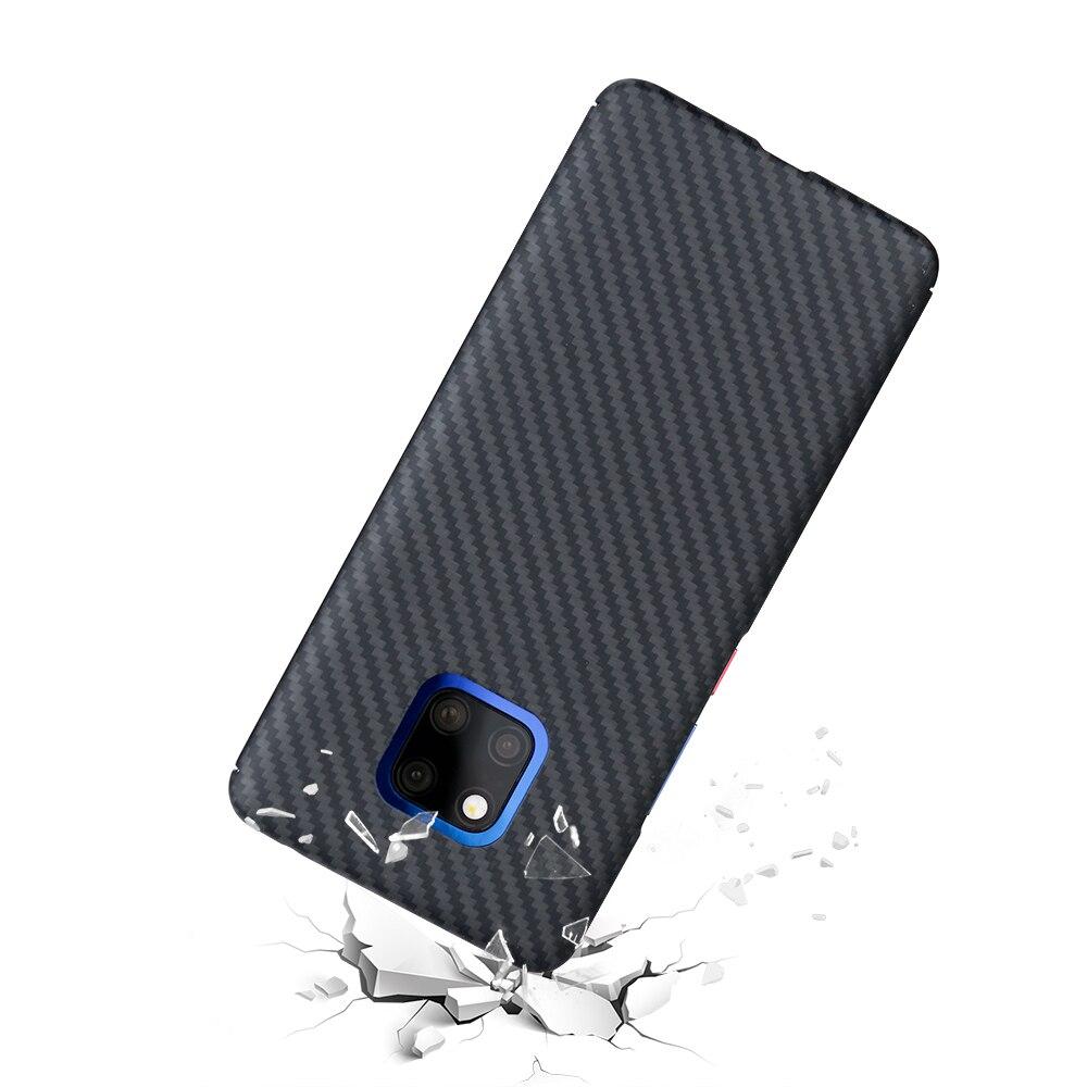 Mcase Antichoc Cas Pour Compagnon 20 Pro Couverture Arrière De Luxe Aramide Fiber De Cas Pour Huawei Compagnon 20 Pro Cas- mat avec Livraison gratuite