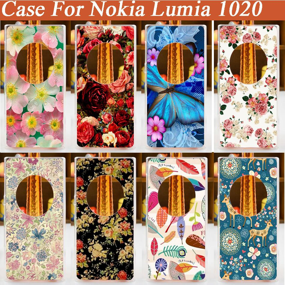 high Quality New Style Hot Selling pattern painting Case For Nokia Lumia 1020 Colored Drawing Hard Plastic Cases Cover