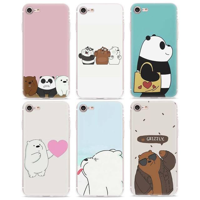iphone 8 bear phone case