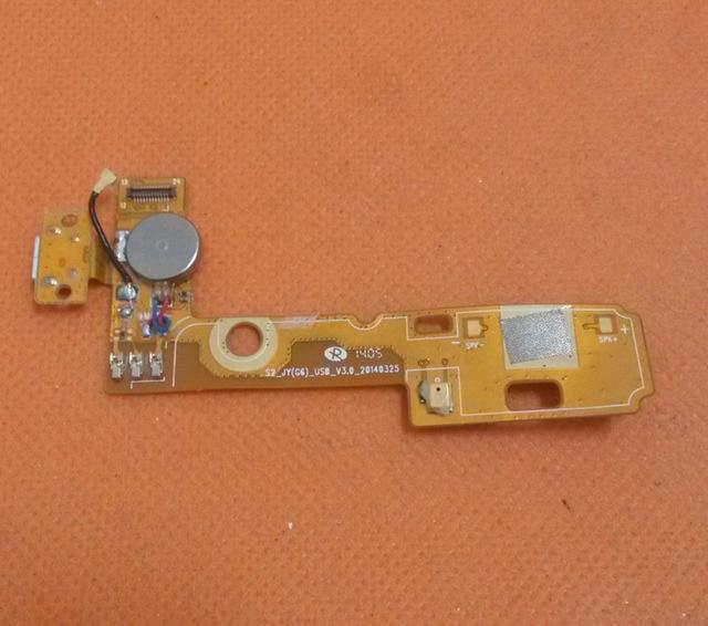 """Использовать Оригинальный USB Plug Заряд Доска + Микрофон Для Jiayu G6 MT6592 Окта основные 3 Г 5.7 """"OGS 1920x1080 FHD Бесплатная доставка"""