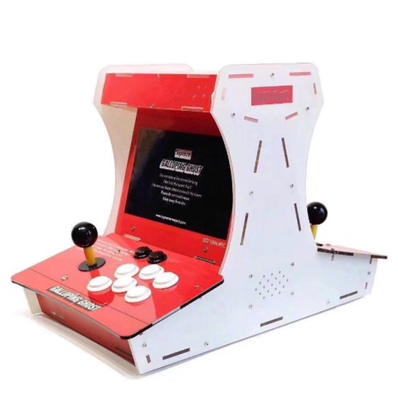 все цены на For Galloping Ghost Arcade Game machine with 10 inch LCD bulit 1388 games in 1 for HD output онлайн