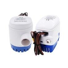 DC automatyczna pompa zatapialna 12 V/24 V 1100GPH do zatapialnej pompy automatycznej z przełącznik pływakowy łódź morska morska przynęta zbiornik ryby