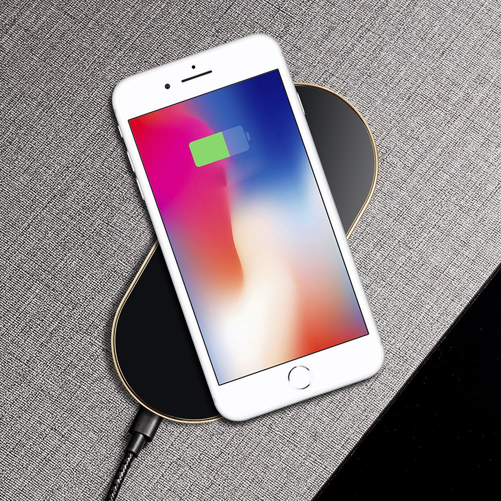 New Arrive UP3 QI Standard 10W Universal Mobile Phone Fast Wireless Charger for iPhone Hot Sale