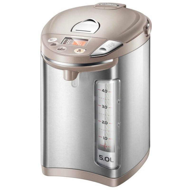 Медведь 5L Электрический чайник термос 304 Нержавеющая сталь Внутренний вкладыш