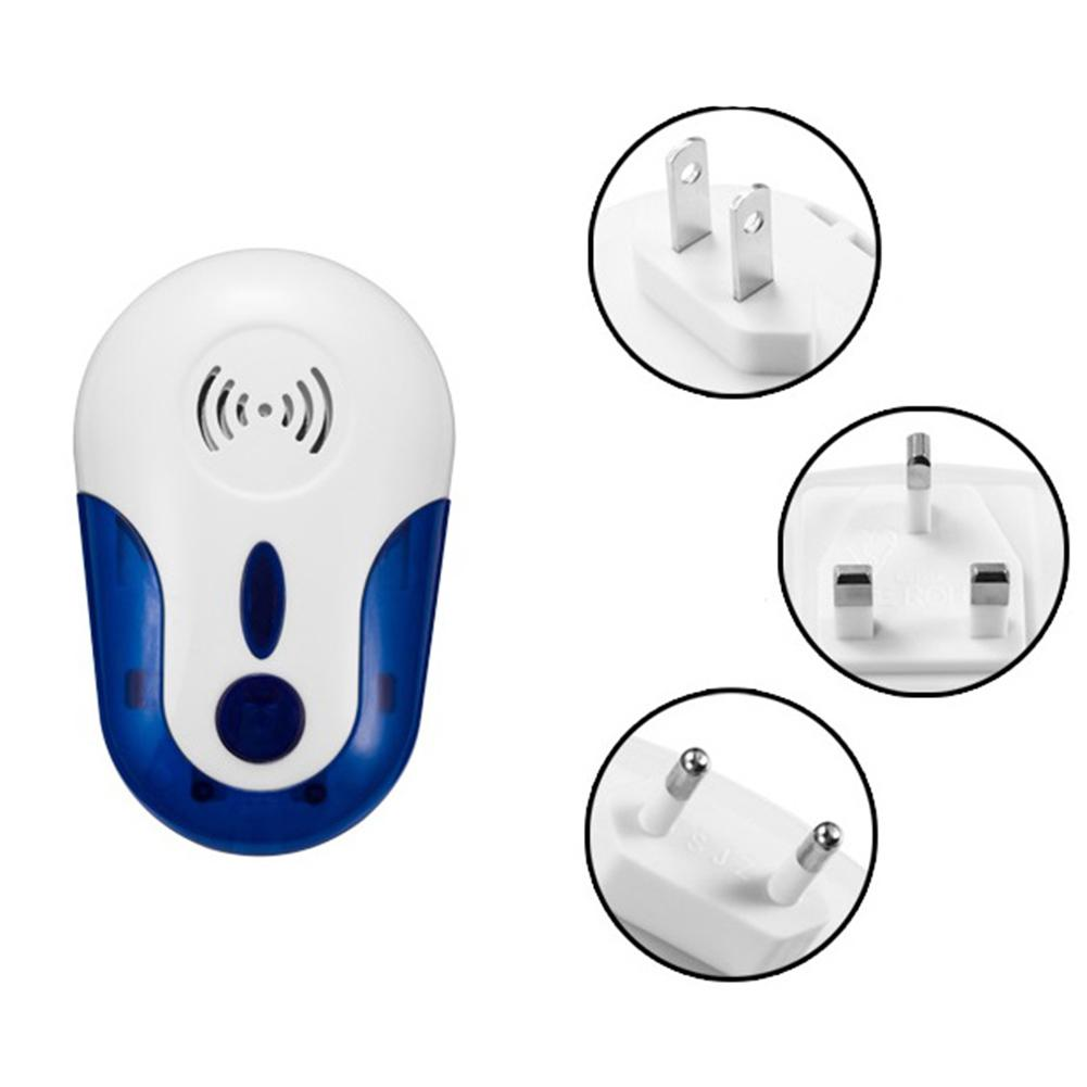 LumiParty Multifunctional Ultrasonic Wave Mice Dispeller Mosquito Cockroach Pest Repeller