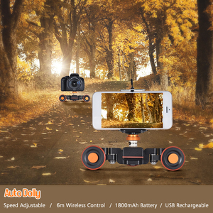Image 2 - Andoer Mini deslizador de pista L4 PRO, Control remoto inalámbrico, cámara motorizada, vídeo deslizante para cámara DSLR Canon, Nikon, Sony