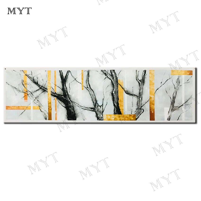 MYT Tree Branch Art Poster Canvas Painting Wall Pictures for Living Room Decoration Picture Decoration Painting for Bedroom