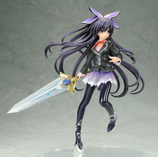 20cm Date A Live Tohka Yatogami 1/8 Scale Action Figures PVC brinquedos Collection Figures toys for christmas gift