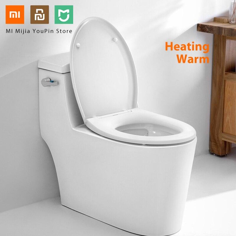 Original Xiaomi Youpin Washing Smart Toilet Cover Seat Heating Warm Intelligent Toilet Lid Waterproof Cleaning Lavatory