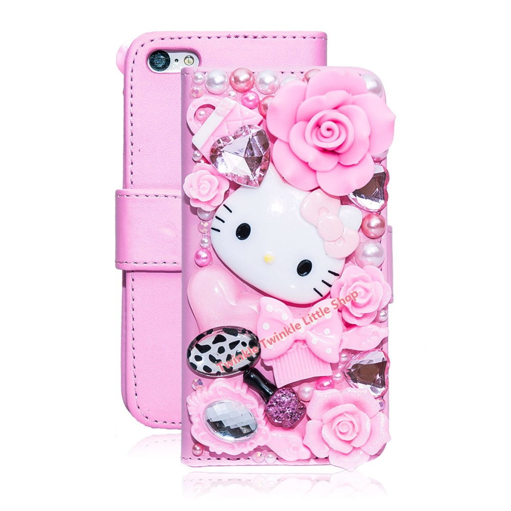 Hello Kitty Iphone  Wallet Case