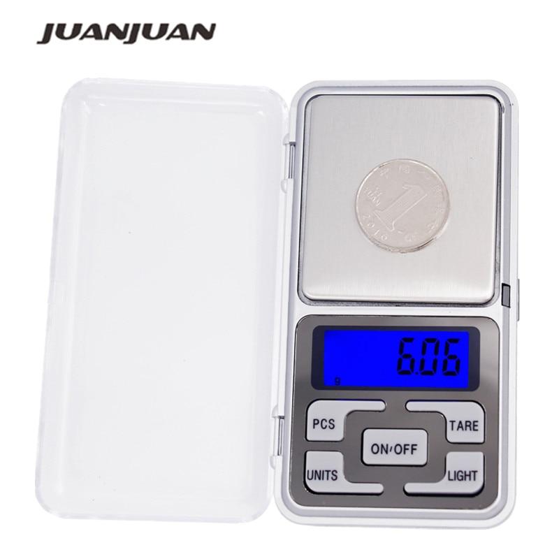 1pcs 300g / 500g 0.01g 1000g 0.1g Escala Electrónica Mini Digital Pocket Peso Joyería Diomand Balance balanza digital joyería 17% de descuento