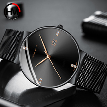 Classical Business Men Watches Top Brand luxury Stainless Steel Waterproof Quartz Movement Calendar Wristwatch relogio masculino luxury natural all bamboo wood watches round simple bracelet clasp quartz movement wristwatch gifts relogio masculino