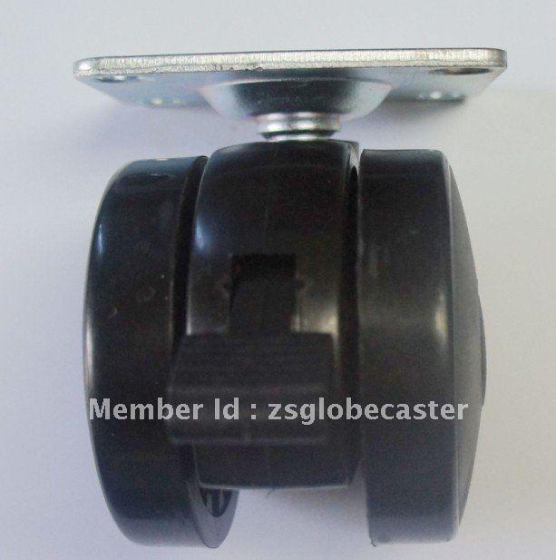 60 мм барбекю ролик с тормозом