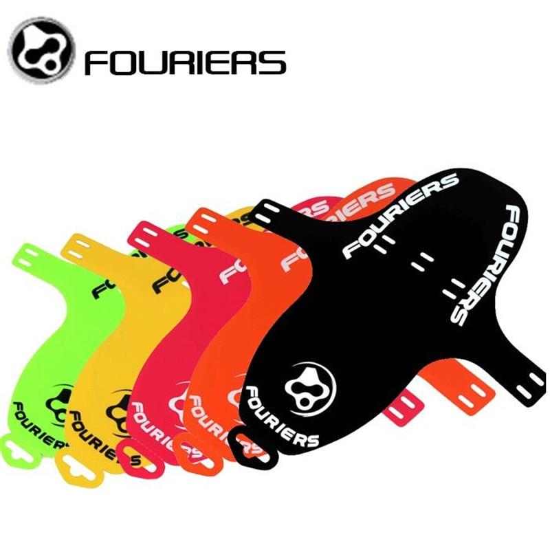 FOURIERS Ποδήλατο ποδηλάτου MTB Γρήγορη απελευθέρωση Fender εμπρόσθιας όψης πτερυγίου φρένου PP 6 χρώμα 27g 19g Χρώμα