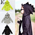 Children Clothing 2017 Autumn Boy Sport Coats Baby Boys Clothes Dinosaur Modelling Hooded Jacket Costume For Kids Girls Jackets