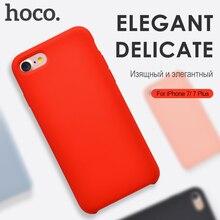 Hoco para el iphone 7 & 7 plus gel de sílice cubierta de la pc para iphone 7 plus protector case cáscara de la protección para iphone7 casos