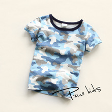 Nova baby girls clothes kids Boys t shirt new summer fashion Camouflage boy clothes children t shirts casual print boy's t shirt цена и фото