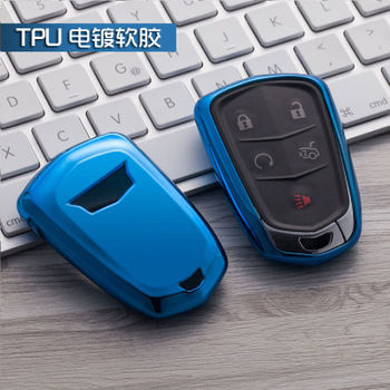 New TPU Car Key Cover Case Shell Bag For Cadillac CTS ATS 28T CTS-V coupe SRX Escalade srx atsl xts 2015 XT5 CT6 Car styling image