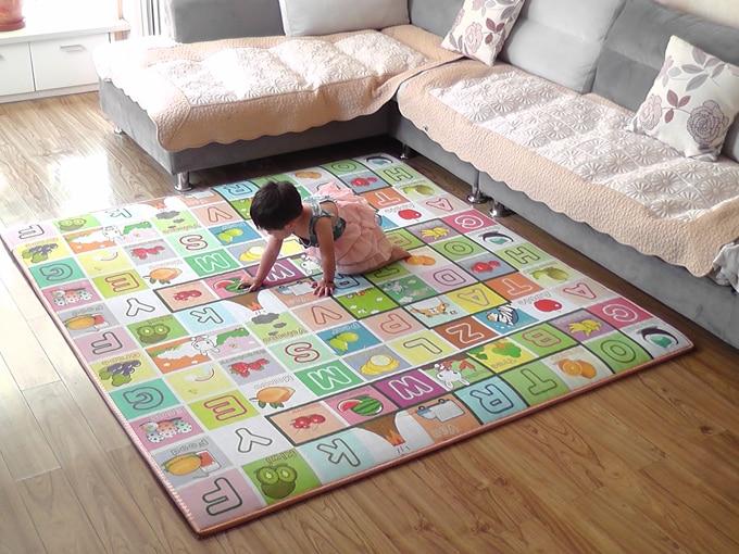 Անվճար առաքում Baby Toy Crawling Play Mat 200 * 180 * m - Խաղալիքներ նորածինների համար - Լուսանկար 4
