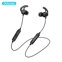 Doboss Bluetooth kulaklık kablosuz kulaklıklar kulaklık kulakiçi boyun bandı Auriculare mıknatıs koşu Stereo ses Mic ile