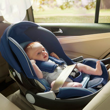 Продажи быстро прочный мягкий автокресло для 0-13 месяцев ребенок в использовании