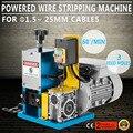220 В питание Электрический провод зачистки машина кабель автоматический инструмент для зачистки овощечистка