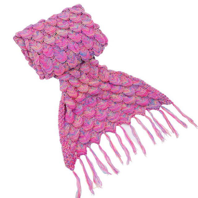 19085 Cm Erwachsene Handgemachte Gestrickte Meerjungfrau Decke
