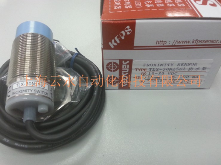 NEW  ORIGINAL TLX-30N15E1 Taiwan kai fang KFPS twice from proximity switch turck proximity switch bi2 g12sk an6x