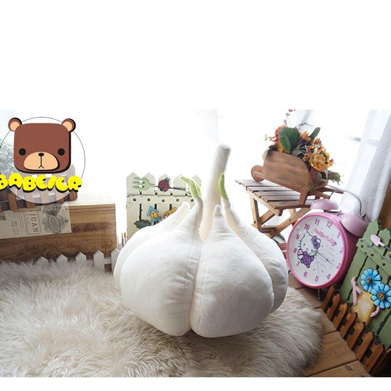 Creative Vegetables Garlic Throw Pillows Cushion Emoji Pillow Cute Doll Emoji Sofa Pillows Siesta Throw Pillow Cojines Almofadas