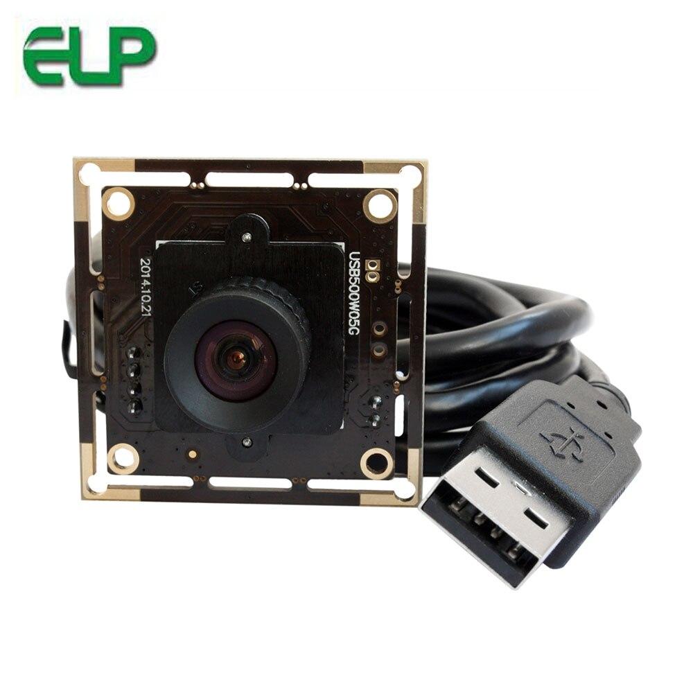 Module de caméra USB haute résolution Aptina 5mp sans lentille de distorsion pour framboise linux Pi