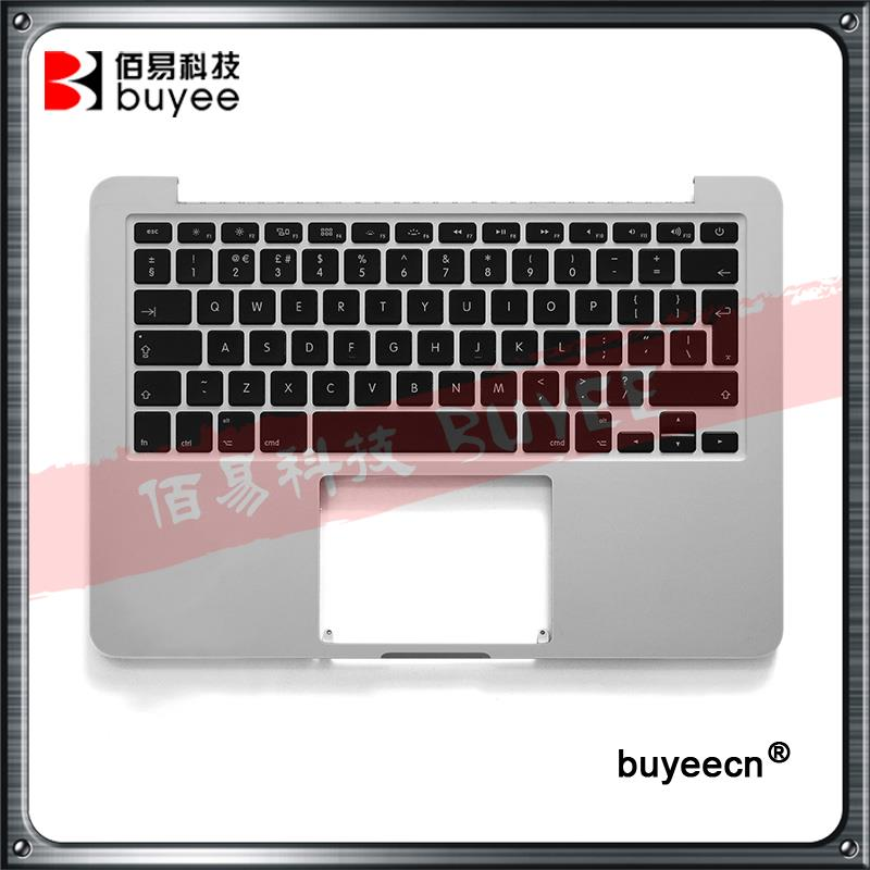 Original A1502 English Kyeboards For MacBook Retina Pro 13 3 A1502 Top Case Palmrest Topcase UK