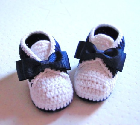 10% di sconto ! classic tuxedo stile crochet bottini del bambino del cotone - 9 10 11 cm , fatto a mano scarpe bambino , maglia scarpe a buon mercato , nuovo . 1 pairs / 2 pz