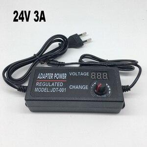 Image 5 - Adjustable AC to DC 3V 12V 3V 24V 9V 24V Universal adapter with display screen voltage Regulated power supply adatpor 3 12 24 v