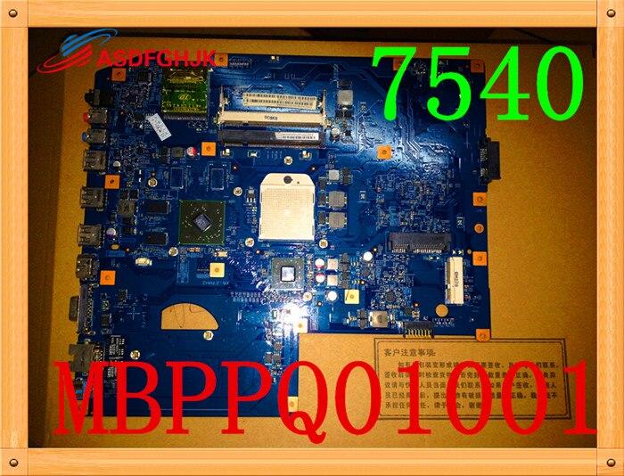 for font b acer b font ASPIRE 7540 7540G laptop motherboard MBPPQ01001 JV7 TR8 48 4FP03