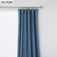 Modern Design Solid Color Daylight Curtains for living room bedroom Curtains Customized Size available half light shading