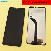 Tested 5 7 For Xiaomi Redmi 5 Redmi5 LCD Display And Touch Screen Digitizer Assembly Replacement