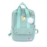Cartoon Cute Puppy Shiba Inu Dog Print Backpack Canvas Travel Bag Laptop Schoolbag Teenager School Bags Bagpack Student Mochila