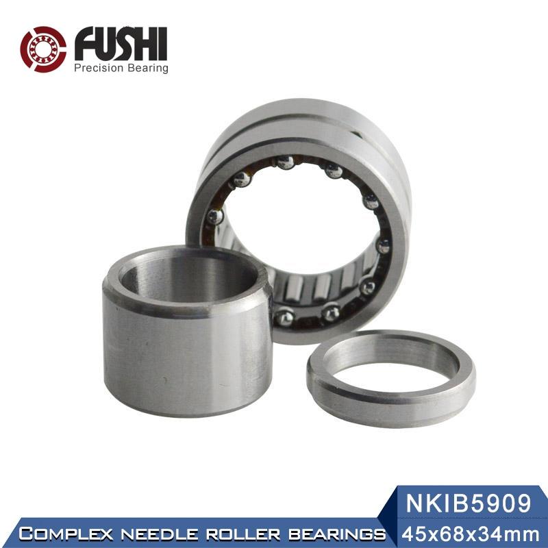 NKIB5909 roulements complexes 45*68*34mm (1 PC) roulement à aiguilles à Contact oblique roulement à billes NATB5909 NATB 5974909